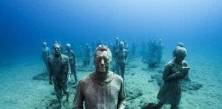underwater museum  e