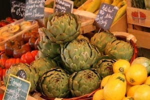 The Saturday market in Apt, Provence.