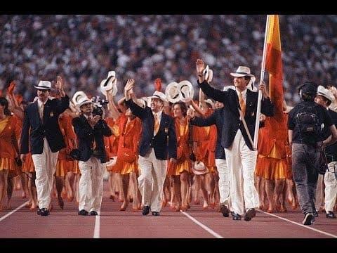 Felipe at Olympics