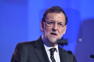 CHARM OFFENSIVE: Rajoy hosts EU leaders