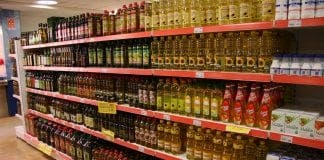 Supermercado Aceite de oliva