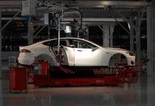 Tesla Factory Fremont CA USA