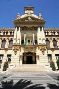 The Casona building in Malaga