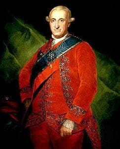 King Carlos IV
