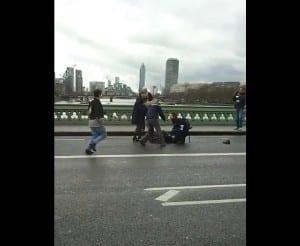 Victims injured on Westminster bridge