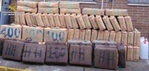 HAUL: Algeciras cops nick suspected hash smugglers
