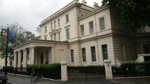 The Spanish embassy in London