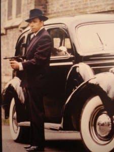 Kenny Whymark as Humphrey Bogart