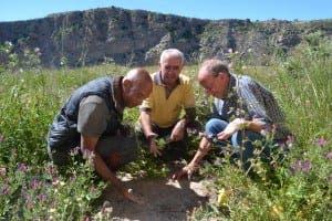 Juan Perez Ramos highlights the dry earth in Gochar