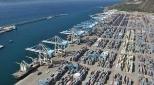 TANGER MED: Expected to become biggest port in Mediterranean