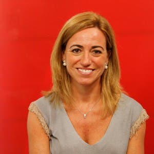 Carme Chacon, Spain's first female defence minister