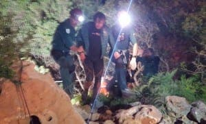 RESCUE: Diver saved from water-filled cave