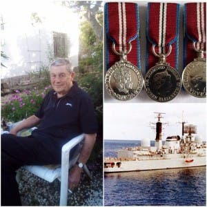 War hero David Russell, whose priceless military medals have been stolen