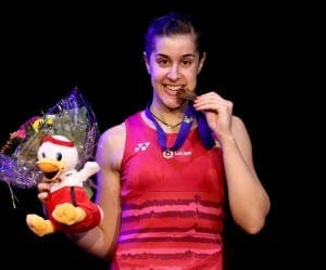 Winner: Carolina Marin