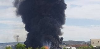 Arganda del Rey explosion