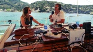 GONE FISHING: Boat Radio broadcasts from Soller