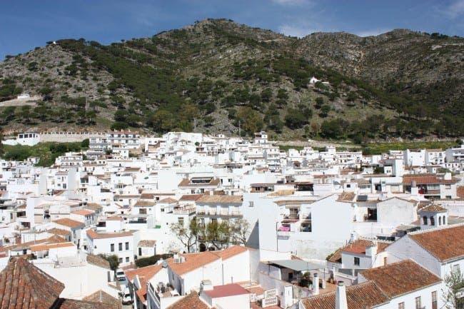 Main piece View of Mijas e