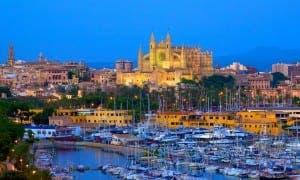 BUSTLING: Balearic businsses on the up