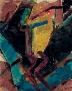 One of David Bomberg's paintings