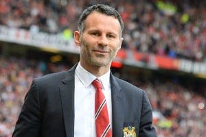 KICKING OFF: Giggs' pal break up bar row