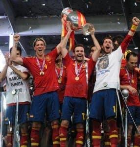Euro 2012 winners