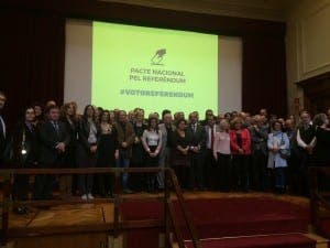 Catalan lawyers sign a manifesto in favour of a referendum