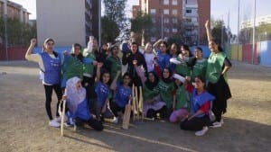Team: Female cricket