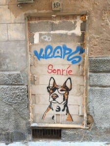 DOG'S LIFE: Graffiti in Mallorca