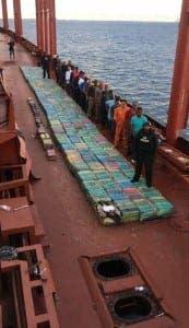 HUGE: Cocaine haul