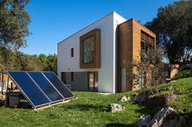 An eco home in Spain