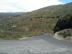 The patch of land in Orgiva which Neil Riddoch was fraudulently sold