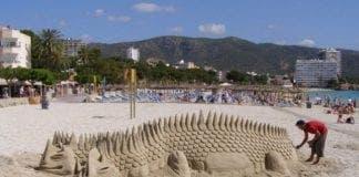 magaluf sandcastle e