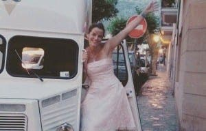 ICE LITTLE EARNER: Nina Holmes selling gelato truck seen in Night Manager