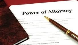 power attorney