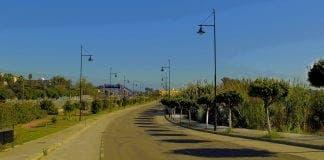 torremolinos Avenida Salvador Dalí in La Colina e