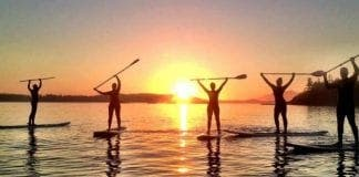 Bona Ona Sunset Stand Up Paddle e