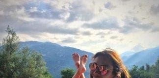 Melanie Sykes holiday