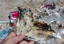 Burned Plastic