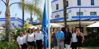 estepona port blue flag e