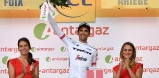 Alberto contador at Tour de France