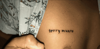 Football Fan Terry Munro