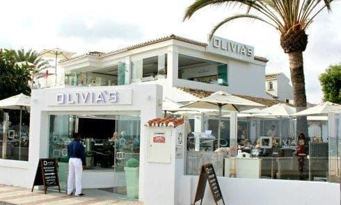 Wright restaurant Olivias La Cala