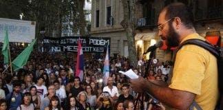 Palma protest