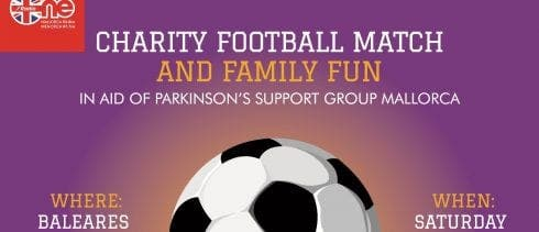 Charity football match to raise money for Parkinson's Support Group Mallorca