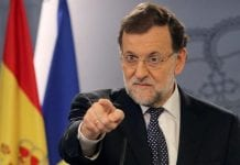 Rajoy under pressure e