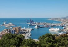 Port of Málaga Northeast view   e