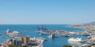 Port of Málaga Northeast view   e