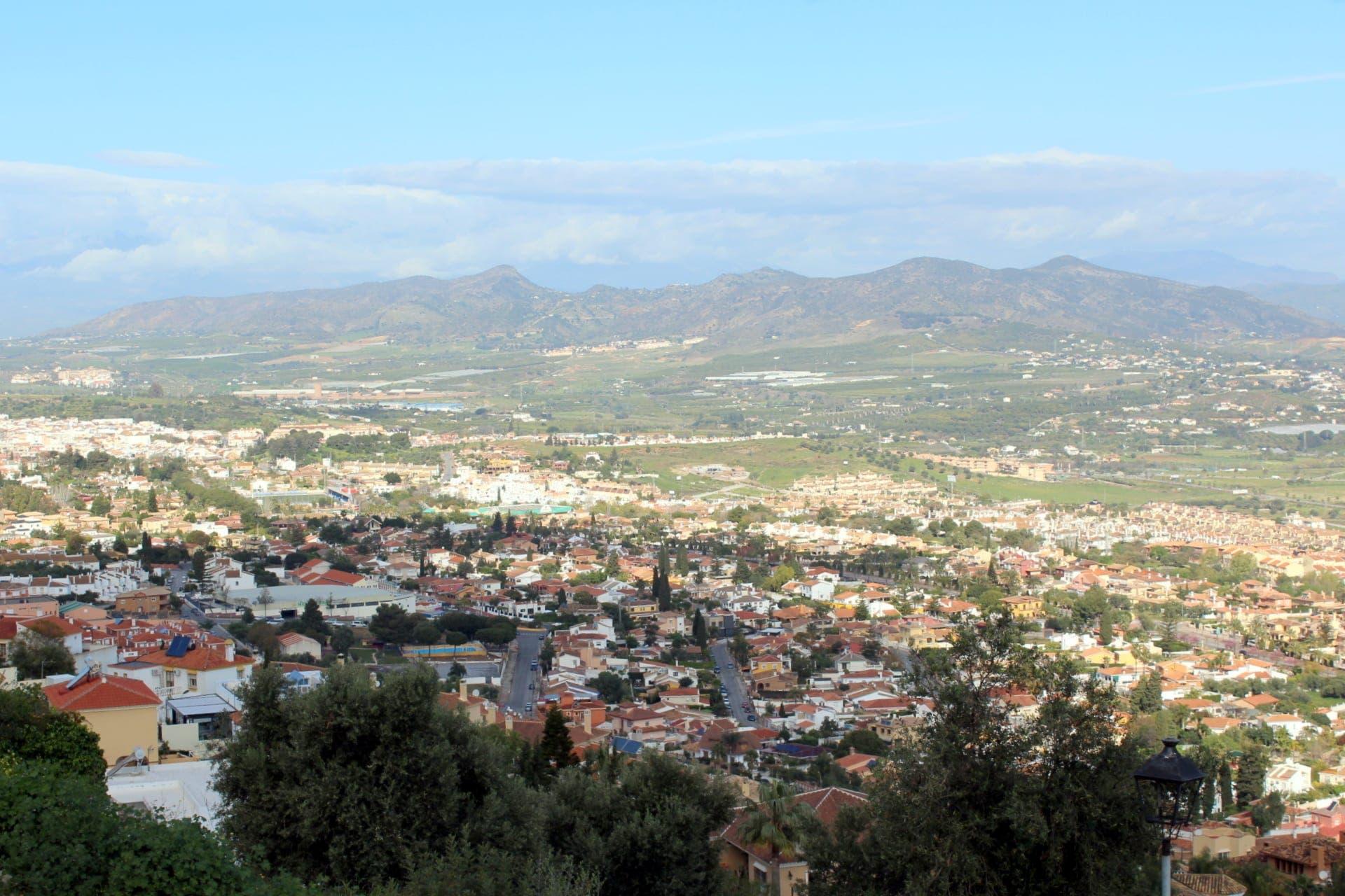 Vista Alhaurín de la Torre desde El Lagar