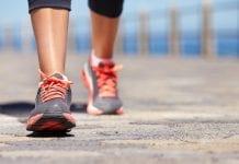 walking heart health