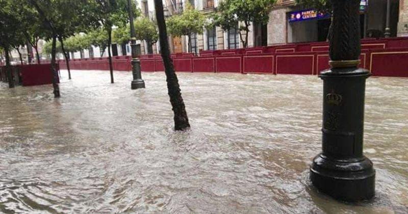 Calle Larga Efectos Borrasca Félix Jerez